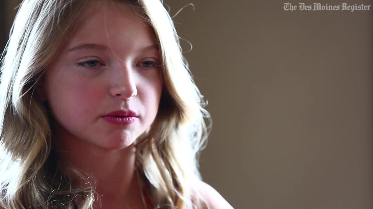 10-year-old girl is latest Iowan to make splash in Hollywood