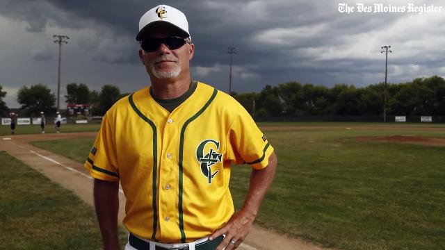 Robbed of his sight, Iowa coach remains focused on baseball