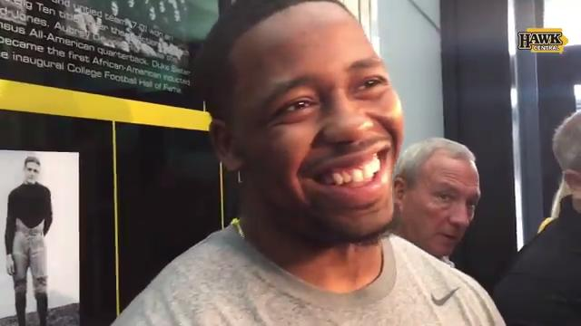 What motivates Iowa running back Akrum Wadley?