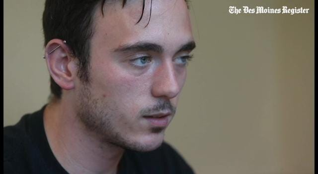 Sexual assault victim Caleb Byers talks about his recovery from a sexual assault in 2012.
