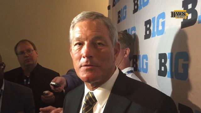 Kirk Ferentz's response to Iowa getting picked 4th in Big Ten West