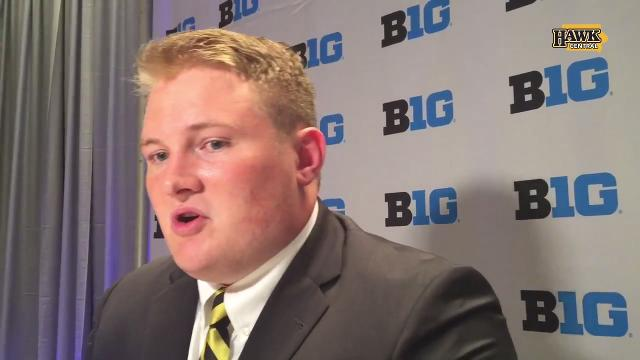 What prompted Iowa's Sean Welsh to open up about his depression