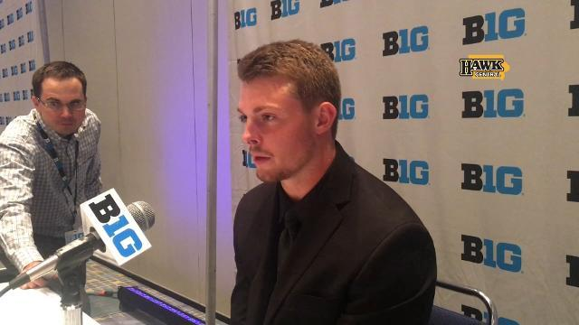 Matt VandeBerg's view on Iowa's quarterback competition