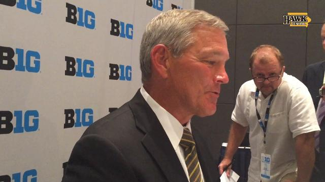 Ferentz talks about what it means to him to be the new dean of college coaches.