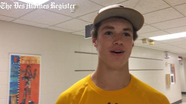 The Johnston senior credits his dad, a one-time major league pitcher, for much of his success.