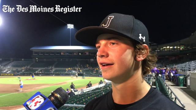 The sophomore details the back-and-forth game that led to the Dragons' 5-4 victory.