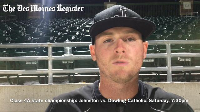 Coach Michael Barta discusses his team's 5-4 win over Waukee on Friday night.