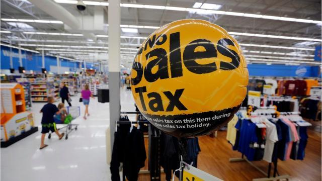 Shoppers in Iowa will get a break from paying sales tax this Friday and Saturday.