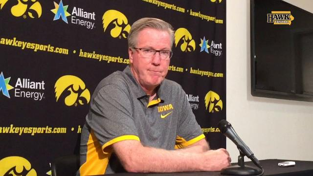 Iowa is set to embark on a 4-game, 12-day trip to Europe. Fran McCaffery explains part of the rule differences.