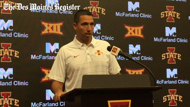 Campbell on the growth of Iowa State's defensive line