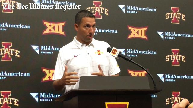 "Matt Campbell: ""Joel Lanning will play offense"""