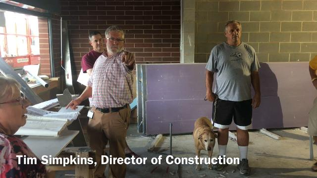A new concession stand, new bathrooms and new bleachers are being constructed at the 40-year-old stadium.
