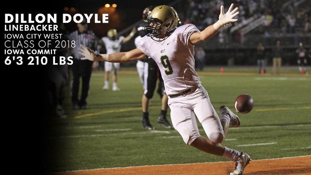 Iowa City West's Dillon Doyle looks like Iowa linebacker prototype