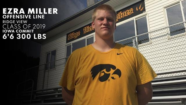 Iowa Eight: Iowa Hawkeye recruit Ezra Miller is an overwhelming force