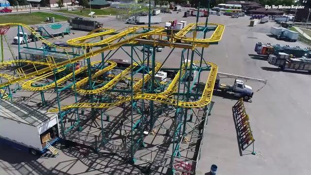 New thrill areas for adventurous fair-goers