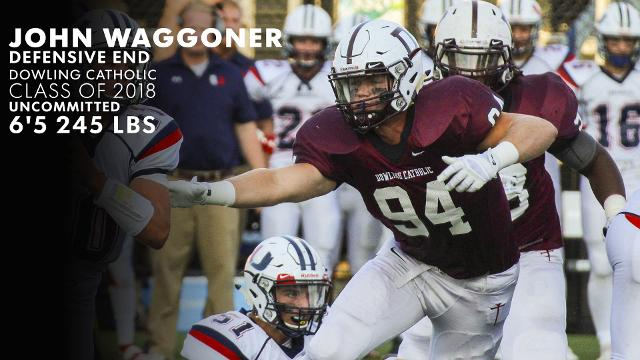 Iowa Eight: Dowling Catholic DE John Waggoner has developed into one o