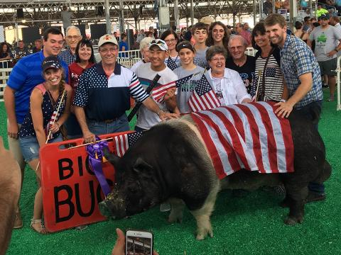 Meet this year's Big Boar challenge winner