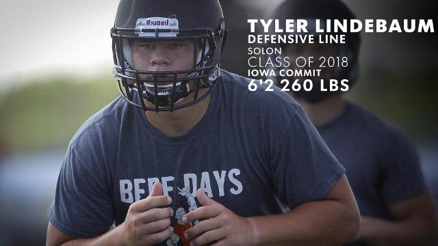 Iowa Eight: Tyler Linderbaum of Solon