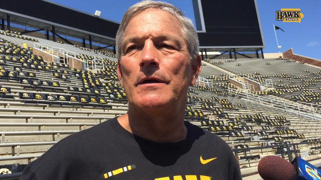 Kirk Ferentz sizes up his QBs, welcomes Matt Quarells
