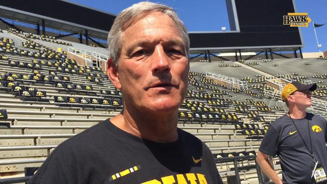 Kirk Ferentz knows he needs to move on from pet-peeve issues