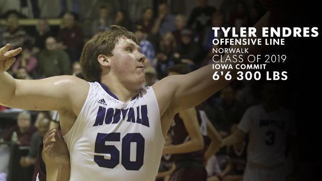 Iowa Eight: Tyler Endres of Norwalk