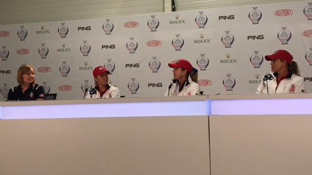 Paula Creamer describes why she feels so excited to represent her country in the biennial women's team golf event.
