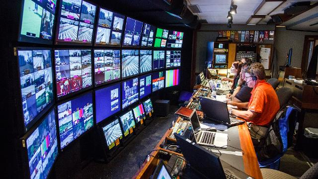 Go behind the scenes and see what it takes to cover a world-class tournament.