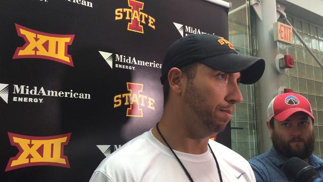 Matt Campbell says he expects Kamilo Tongamoa to arrive by next Wednesday.