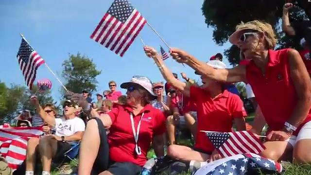 United States dominates Europe in Friday afternoon Solheim Cup matches