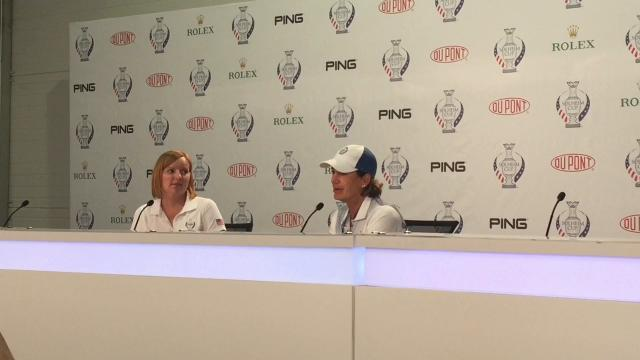 Juli Inkster raves about U.S. team's Solheim Cup dominance