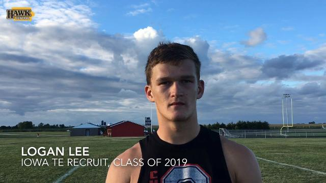 Hawkeye TE recruit Logan Lee discusses recruitment, fit with Iowa