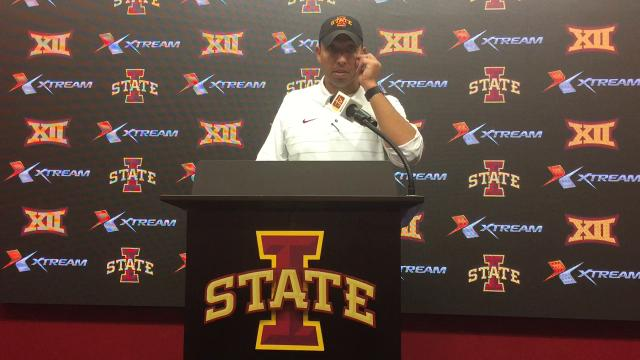 Matt Campbell on Iowa State's season-opening win