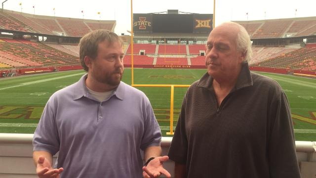 Pete and Tommy talk Campbell's Monday Cy-Hawk press conference