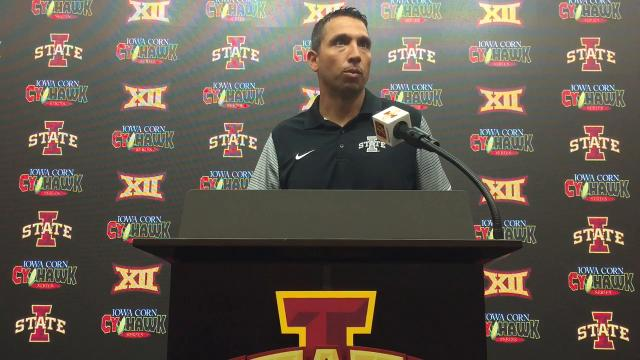 Matt Campbell prepares for Iowa