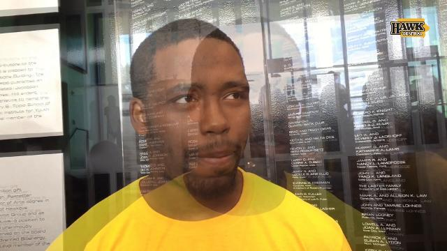 Akrum Wadley on Iowa State bus walk: 'All you see is red and yellow'