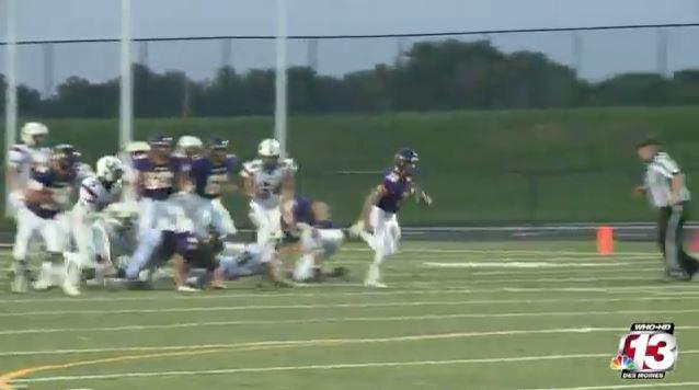 Johnston held on to their lead to beat Urbandale 28-14.