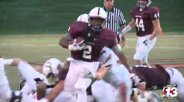 Dowling Catholic rolls over Valley in 42-12 victory.