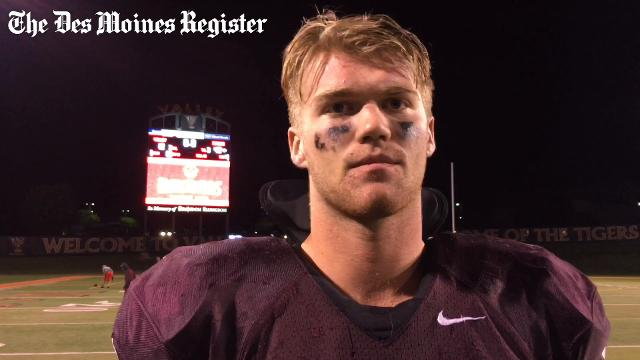 The senior defensive lineman talks about Dowling's 42-12 win over Valley.