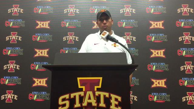 Matt Campbell on loss to Iowa.