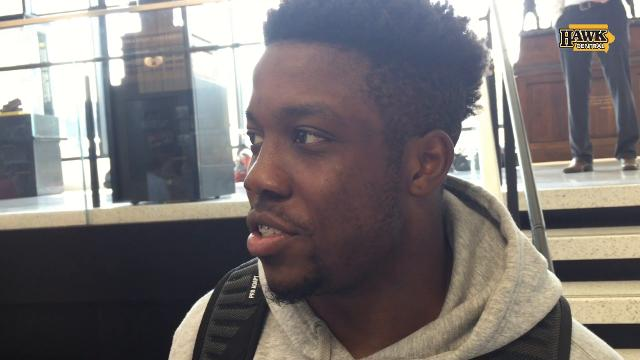 James Butler evaluates his Hawkeye role, Akrum Wadley