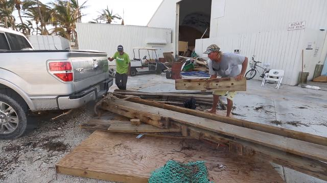 Clean up continues at Florida Keys businesses