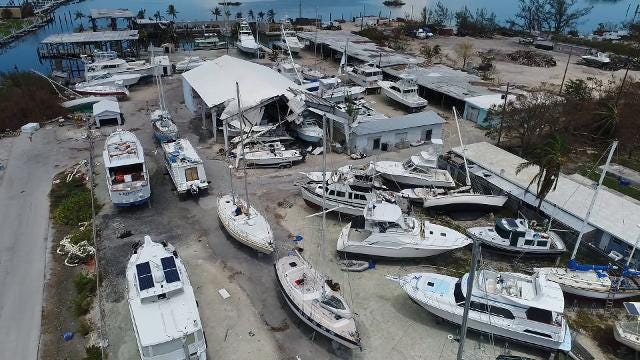 Drone video: Hurricane Irma damage in Marathon