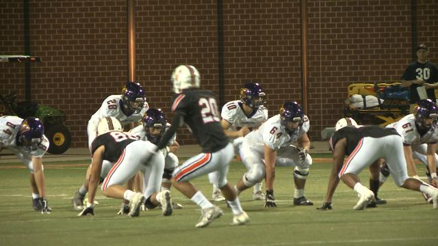 Valley gave Johnston its first loss of the season in 27-14 win.