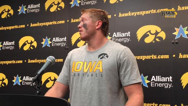 The Iowa Hawkeyes outscoeed North Texas 21-0 in the second half.