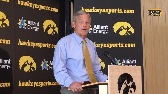The Iowa coach thinks maybe the only thing that went right in Happy Valley was winning the coin toss.