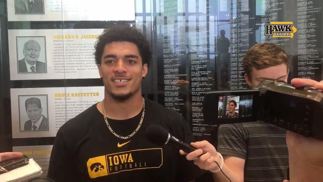 The Iowa sophomore also explains the defensive philosophy against Penn State