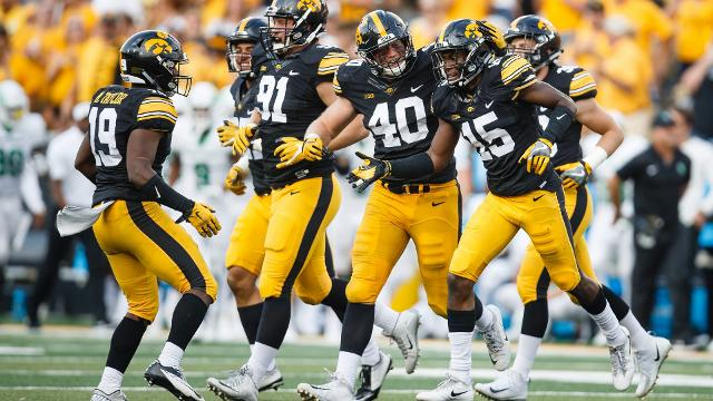 Iowa sports columnist Chad Leistikow and sports reporter Chris Cuellar look at what Iowa needs to do to not repeat last year's loss to Penn State, this time playing to a night crowd at Kinnick Stadium.