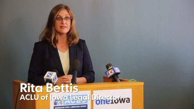Two transgender women filed suit Thursday against Iowa over its ban on Medicaid coverage for transition-related medical services such as sex-reassignment surgery.