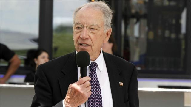 In a phone call with reporters, Sen. Chuck Grassley explains why he supports the Graham-Cassidy health care bill despite its flaws.