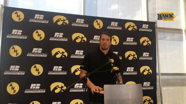 Hear Chad Greenway's most memorable moment as a Hawkeye